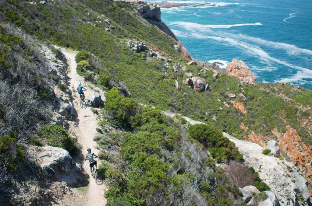 The 2017 Momentum Health Cape Pioneer Trek, presented by Biogen, will spend more time at the coast around Mossel Bay during the first three days. Photo credit: www.zcmc.co.za